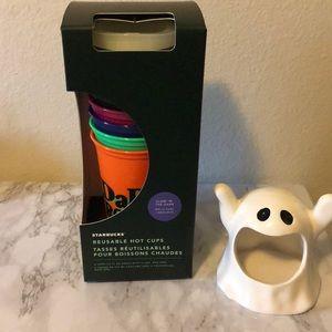 Starbucks Glow in the dark Halloween cups